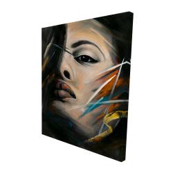 Canvas 48 x 60 - 3D - Abstract woman portrait