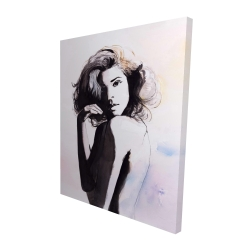 Canvas 48 x 60 - 3D - Almost nude