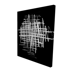 Canvas 48 x 60 - 3D - Contrast