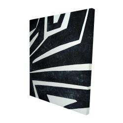 Canvas 48 x 60 - 3D - Labyrinth