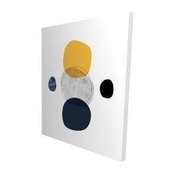 Canvas 48 x 60 - 3D - Spheres