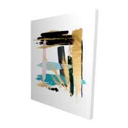 Canvas 48 x 60 - 3D - Pastel stroke