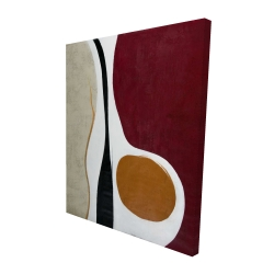 Canvas 48 x 60 - 3D - Multiform