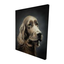 Canvas 48 x 60 - 3D - Field spaniel