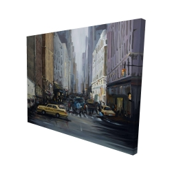 Canvas 48 x 60 - 3D - In the city