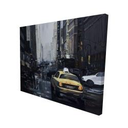 Canvas 48 x 60 - 3D - New york in the dark