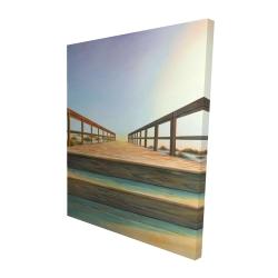 Canvas 48 x 60 - 3D - Footbridge
