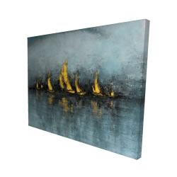 Canvas 48 x 60 - 3D - Set sail