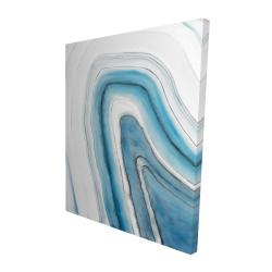 Canvas 48 x 60 - 3D - Round geode