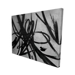 Canvas 48 x 60 - 3D - Circular strokes