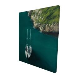 Canvas 48 x 60 - 3D - Smooth sailing