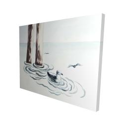 Canvas 48 x 60 - 3D - Seagull