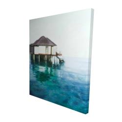 Canvas 48 x 60 - 3D - Dream travel
