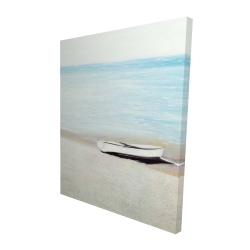 Canvas 48 x 60 - 3D - Along the sea