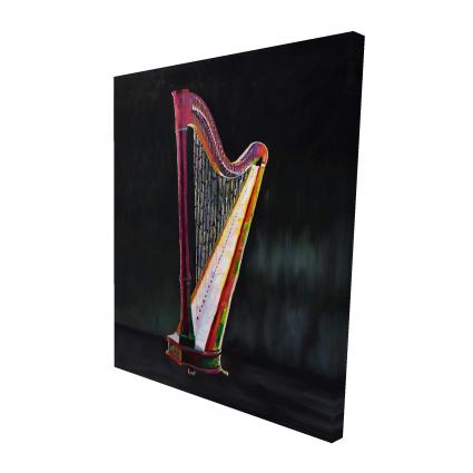 Colorful realistic harp 2