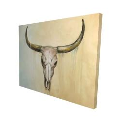 Canvas 48 x 60 - 3D - Cow skull