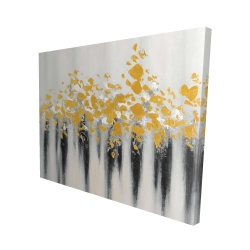 Canvas 48 x 60 - 3D - Small golden spots
