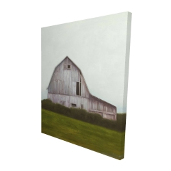 Canvas 48 x 60 - 3D - Rustic barn