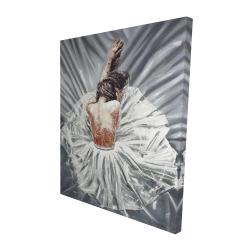 Canvas 48 x 60 - 3D - Ballerina
