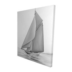 Canvas 48 x 60 - 3D - Vintage sailing ship