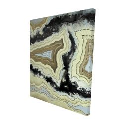 Canvas 48 x 60 - 3D - Lace agate