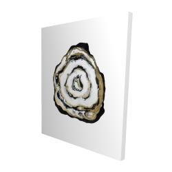 Canvas 48 x 60 - 3D - Golden agate