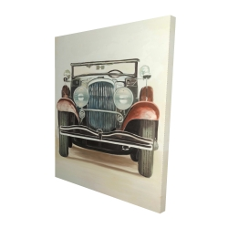 Canvas 48 x 60 - 3D - Old 1920s luxury car
