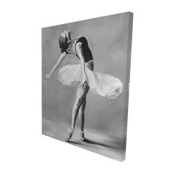 Canvas 48 x 60 - 3D - Classic ballet dancer