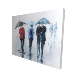 Canvas 48 x 60 - 3D - Spring shower