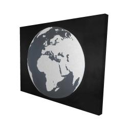 Canvas 48 x 60 - 3D - Earth