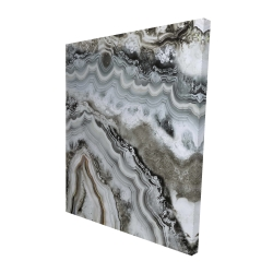 Canvas 48 x 60 - 3D - Abstract geode