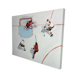 Canvas 48 x 60 - 3D - Eventful hockey game