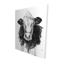 Canvas 48 x 60 - 3D - Cow