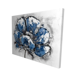 Canvas 48 x 60 - 3D - Small flower