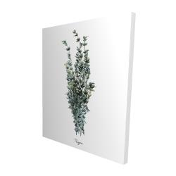 Canvas 48 x 60 - 3D - Thyme leaves bundle - fr