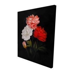 Canvas 48 x 60 - 3D - Small bundle of roses