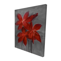 Canvas 48 x 60 - 3D - Asiatic lily