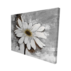 Canvas 48 x 60 - 3D - Abstract daisy