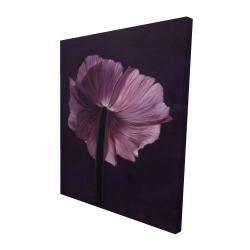 Canvas 48 x 60 - 3D - Purple petals