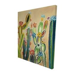 Canvas 48 x 60 - 3D - Desert gems