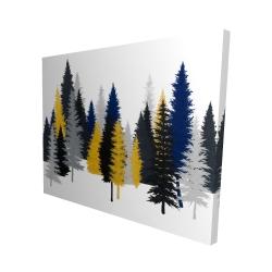 Canvas 48 x 60 - 3D - Golden fir