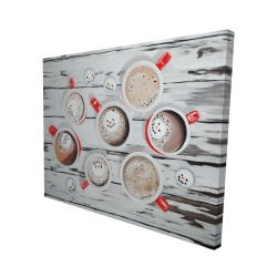 Canvas 48 x 60 - 3D - Holiday hot chocolate