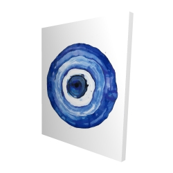 Canvas 48 x 60 - 3D - Erbulus blue evil eye