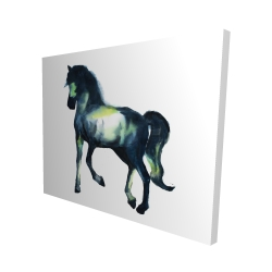 Canvas 48 x 60 - 3D - Elegant horse