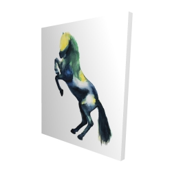 Canvas 48 x 60 - 3D - Greeting horse