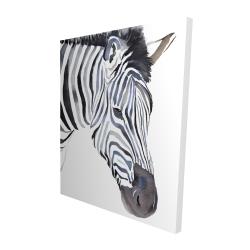 Canvas 48 x 60 - 3D - Zebra