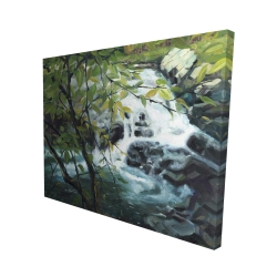 Canvas 48 x 60 - 3D - Peaceful fall