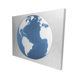 Canvas 48 x 60 - 3D - The earth