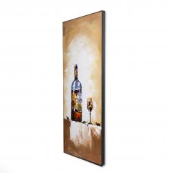 Framed 16 x 48 - 3D - White wine