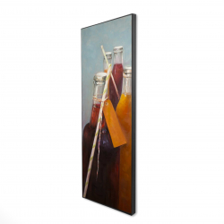 Framed 16 x 48 - 3D - Summer drinks
